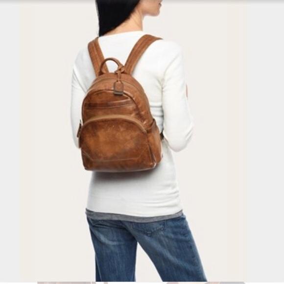 d6e719fbe2 Frye Handbags - Adorable Frye Melissa backpack in cognac leather